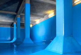 Плоскости за защита на бетона от PE,PP,PVDF и ECTFE